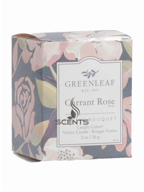 Аромасвеча кубик Greenleaf Смородина и роза Currant Rose